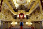 Интерьер домашнего театра Юсуповского дворца