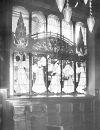 Витраж в столовой особняка Адольфа Франка