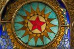 Витраж с советской символикой