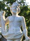 Скульптурное изображение Петергофа