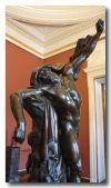 Статуя Поликрат М. И. Козловского