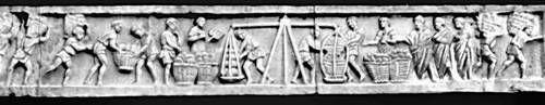 Рельеф гробницы Еврисака