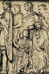 Рельеф, посвященный Энею на Алтаре Мира