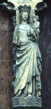 Романская статуя