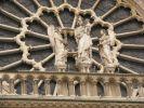 Скульптурная композиция Собора Парижской Богоматери