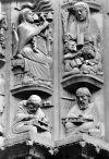 Брак в скульптуре средневековья