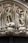 Скульптурные образы святых