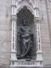 Статуя Иоанна Крестителя, выполненная Гиберти
