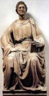 Статуя апостола Луки