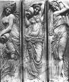 Рельеф Жана Гужона для фонтана невинных