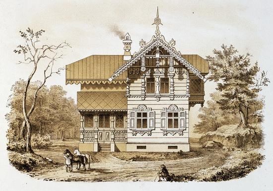 Усадьба XVIII века 2