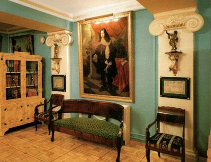 Интерьер в доме Миндовского