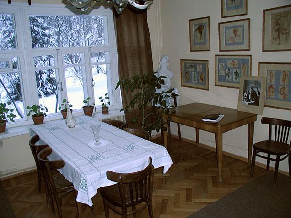 Загородный дом времен СССР