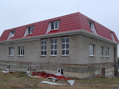 Новомосковский стиль загородного дома