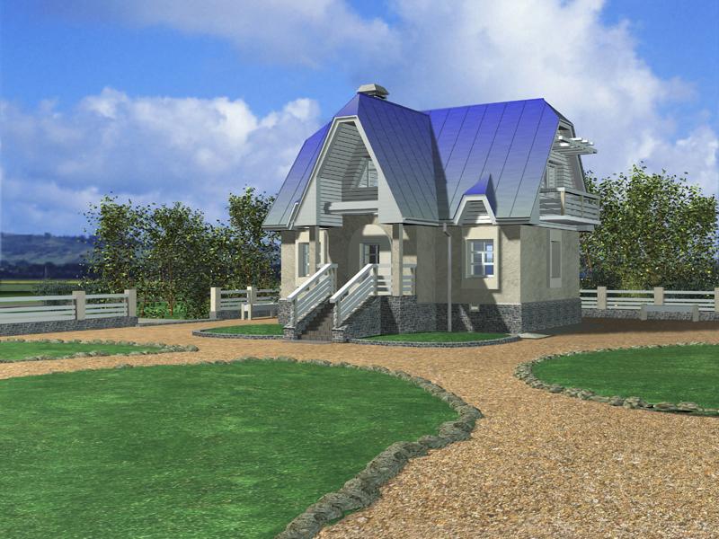 Неомодернистский архитектурный прием в загородном строительстве