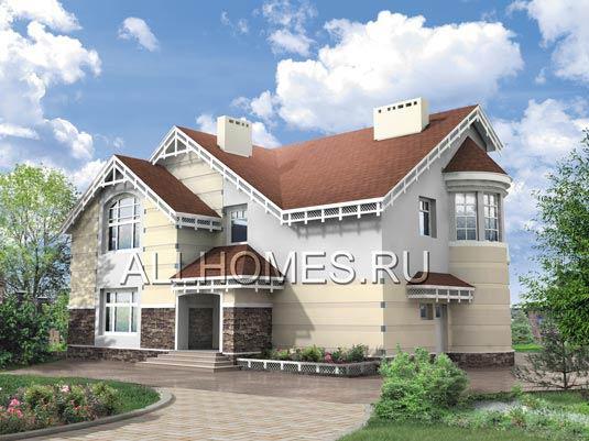 Типовое проектирование загородного дома