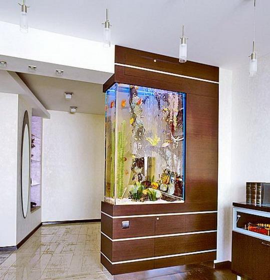 Зонирование помещения с помощью мебели