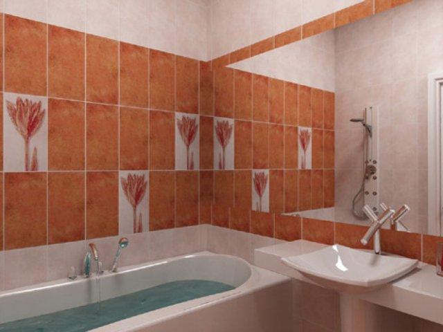 Нейтральный стиль в ванной
