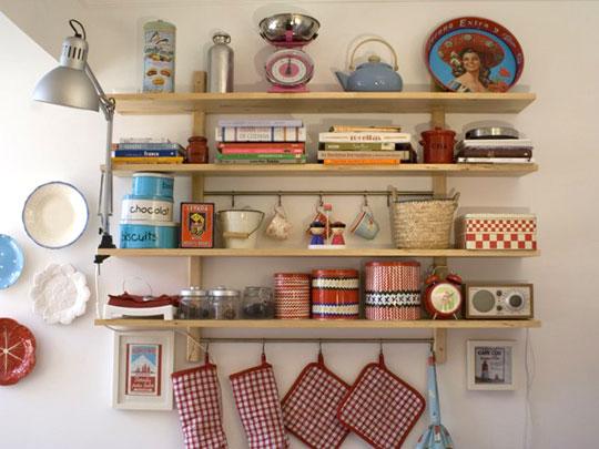 Полки на кухни своими руками