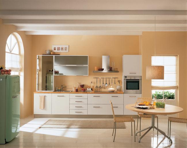 Однолинейная кухня 2