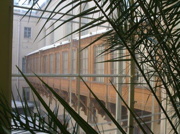 Зимний сад в Мраморном дворце