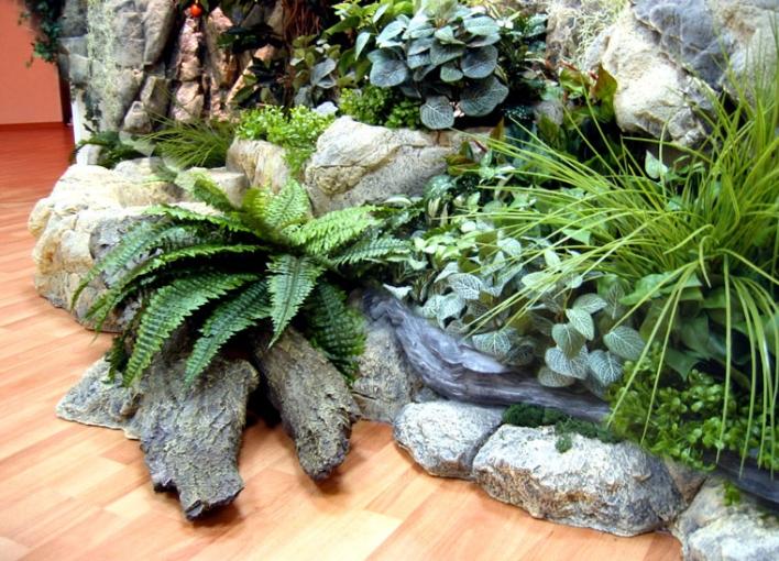 Зимний сад созданный А. П. Брюлловым и А. И. Штакеншнейдером