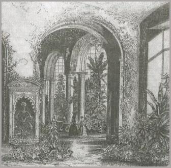 Зимний сад Мариинского дворца