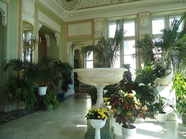 Зимний сад Аничкова дворца