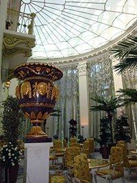 Зимний сад в особняке Половцева