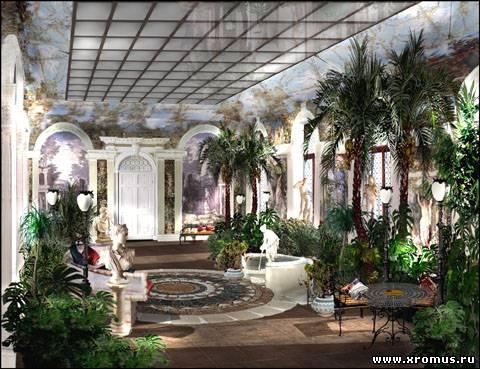 Зимний сад в доме князя Щербатова