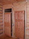 Открытая проводка в деревянном доме