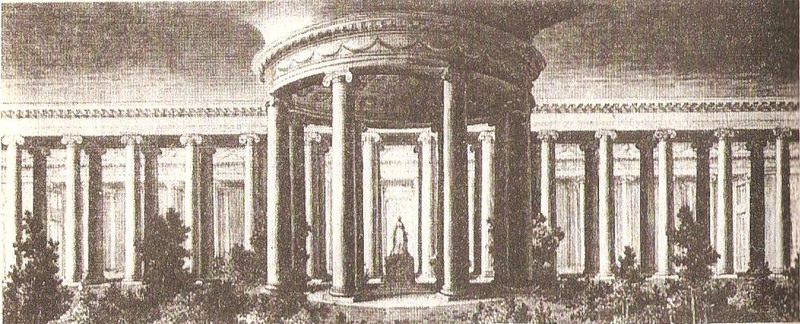 Храм в саду Таврического дворца