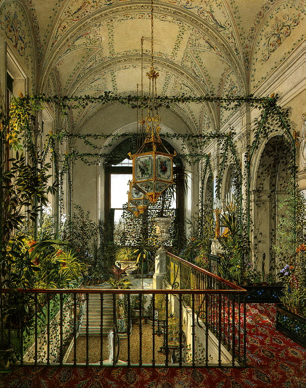 Вертикальная организация пространства зимних садов