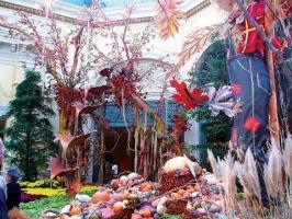 Египетские мотивы в зимнем саду Вонлярлярских