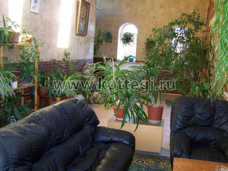Зимний сад в подмосковной усадьбе Мураново
