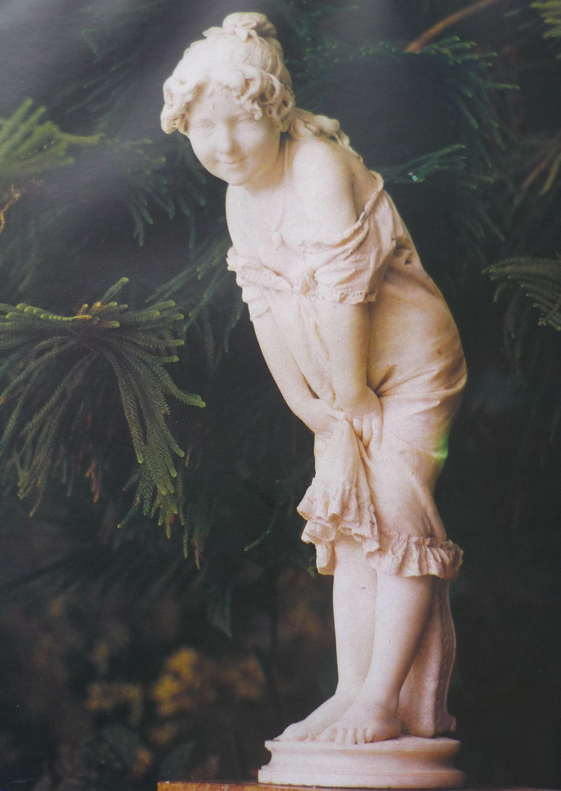 Скульптура в Зимнем саду