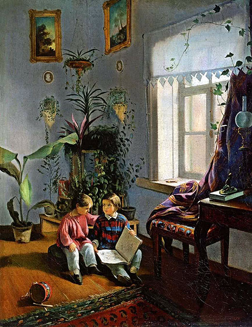 Картина И. Хруцкого