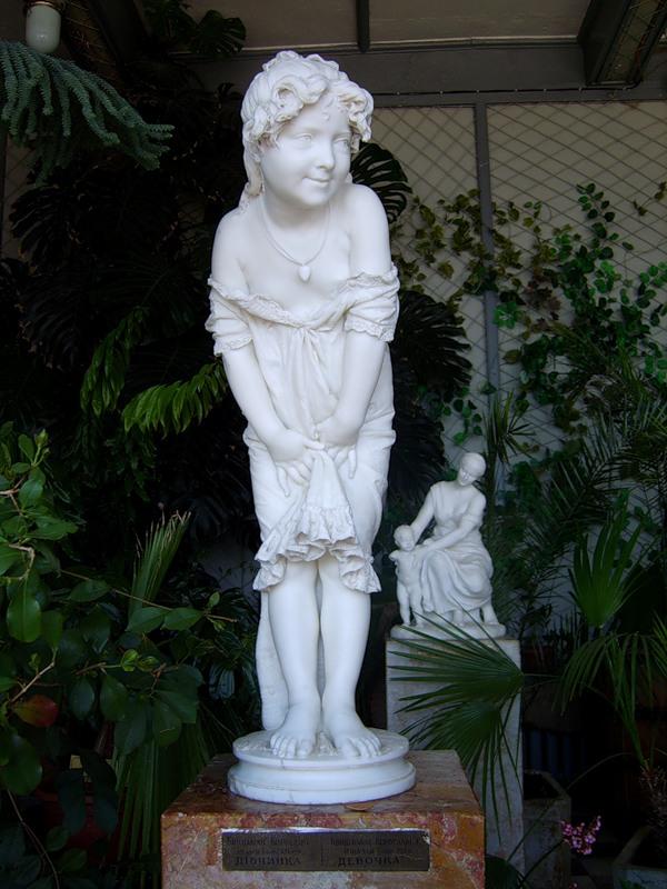 Пластическая форма в зимнем саду