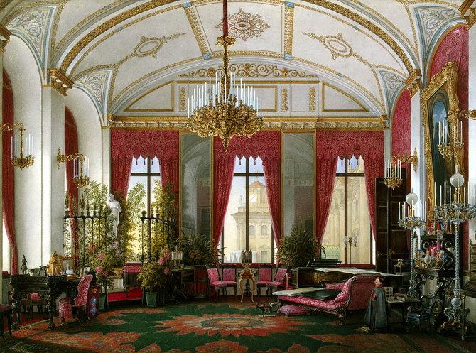 Малиновый кабинет императрицы Марии Федоровны