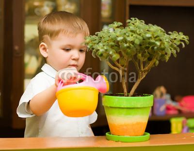 Уход за растениями с детства