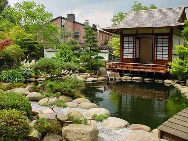 В китайском саду
