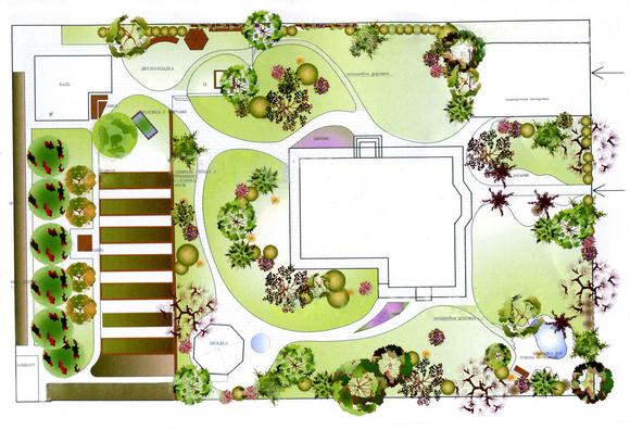 Проект китайского сада