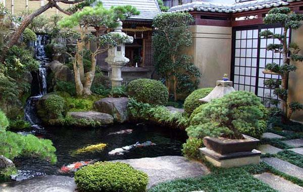 Китайский южный личный сад