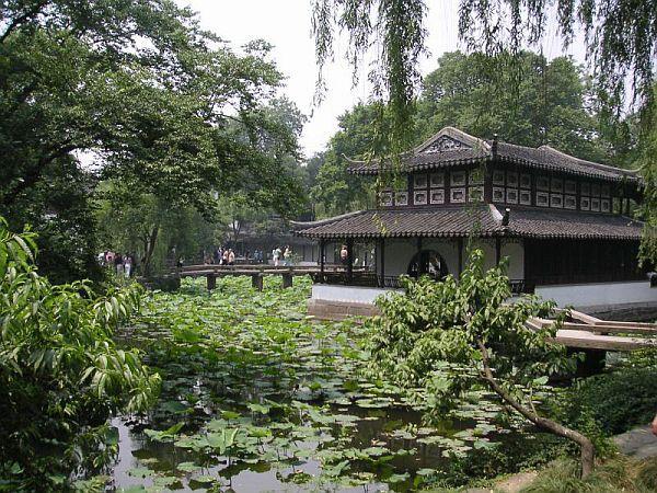 Сад в городе Сучжоу