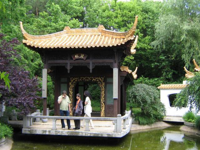 Восточная часть парка Чжоуженюань