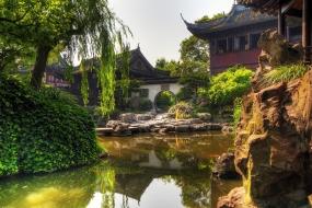 Китайский парк Цзисяошаньчжуан
