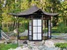 Постройки в китайском саду