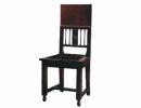 Деревянный стул в романском стиле 1