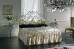 Современная кованая кровать