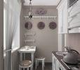 Линейное размещение кухнонной мебели